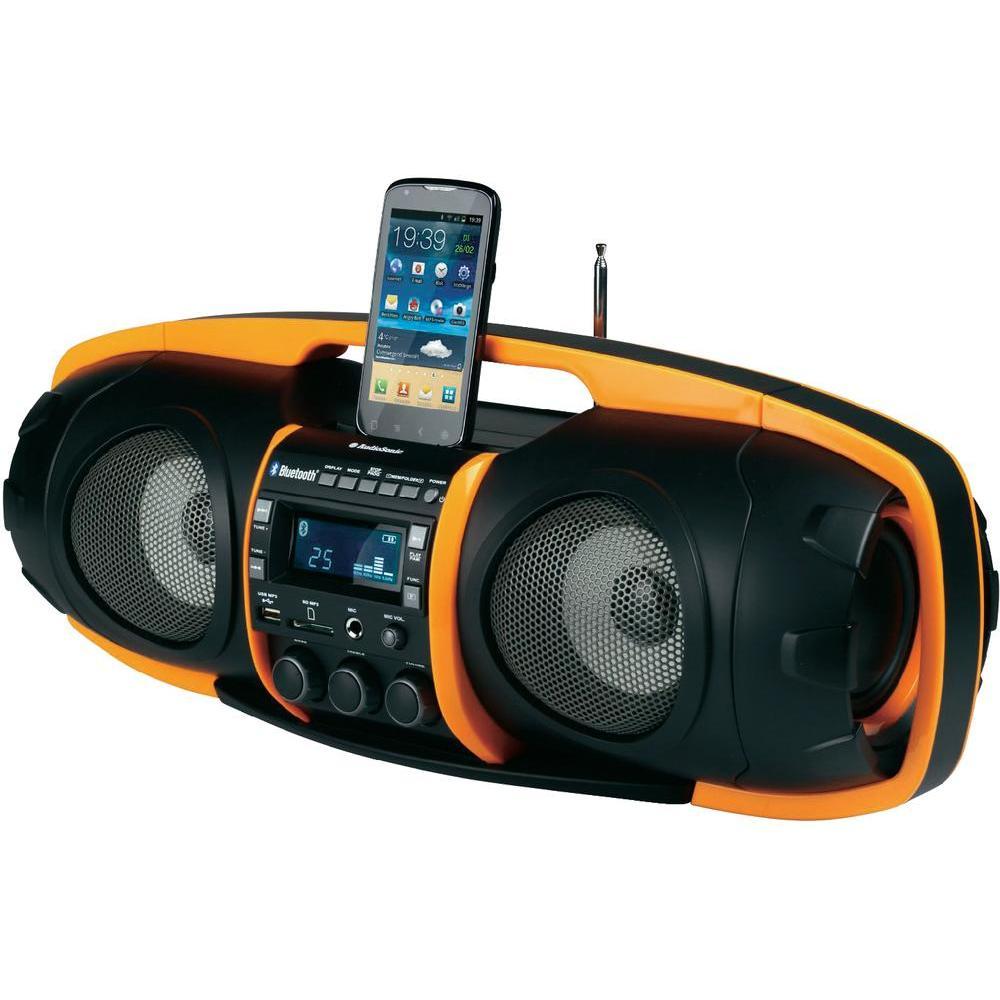 audiosonic rd 1549 radio bluetooth super beatblaster. Black Bedroom Furniture Sets. Home Design Ideas