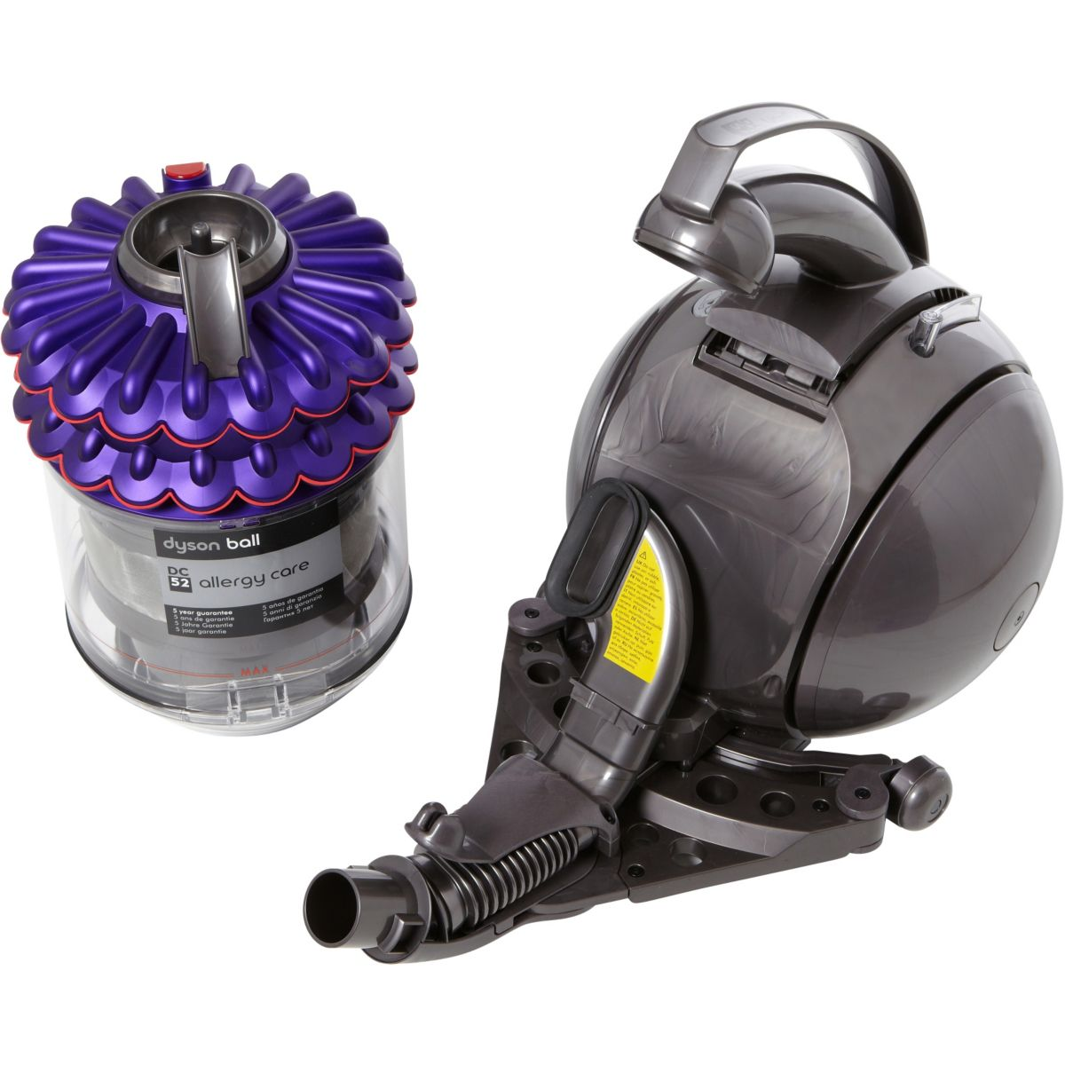 dyson dc52 allergy care aspirateur tra neau sans sac. Black Bedroom Furniture Sets. Home Design Ideas