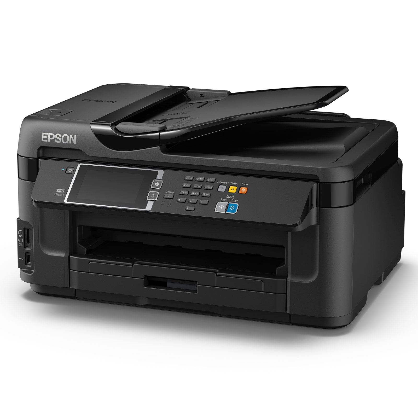 epson workforce wf 7610dwf imprimante multifonctions jet d 39 encre couleur a3 fax comparer. Black Bedroom Furniture Sets. Home Design Ideas