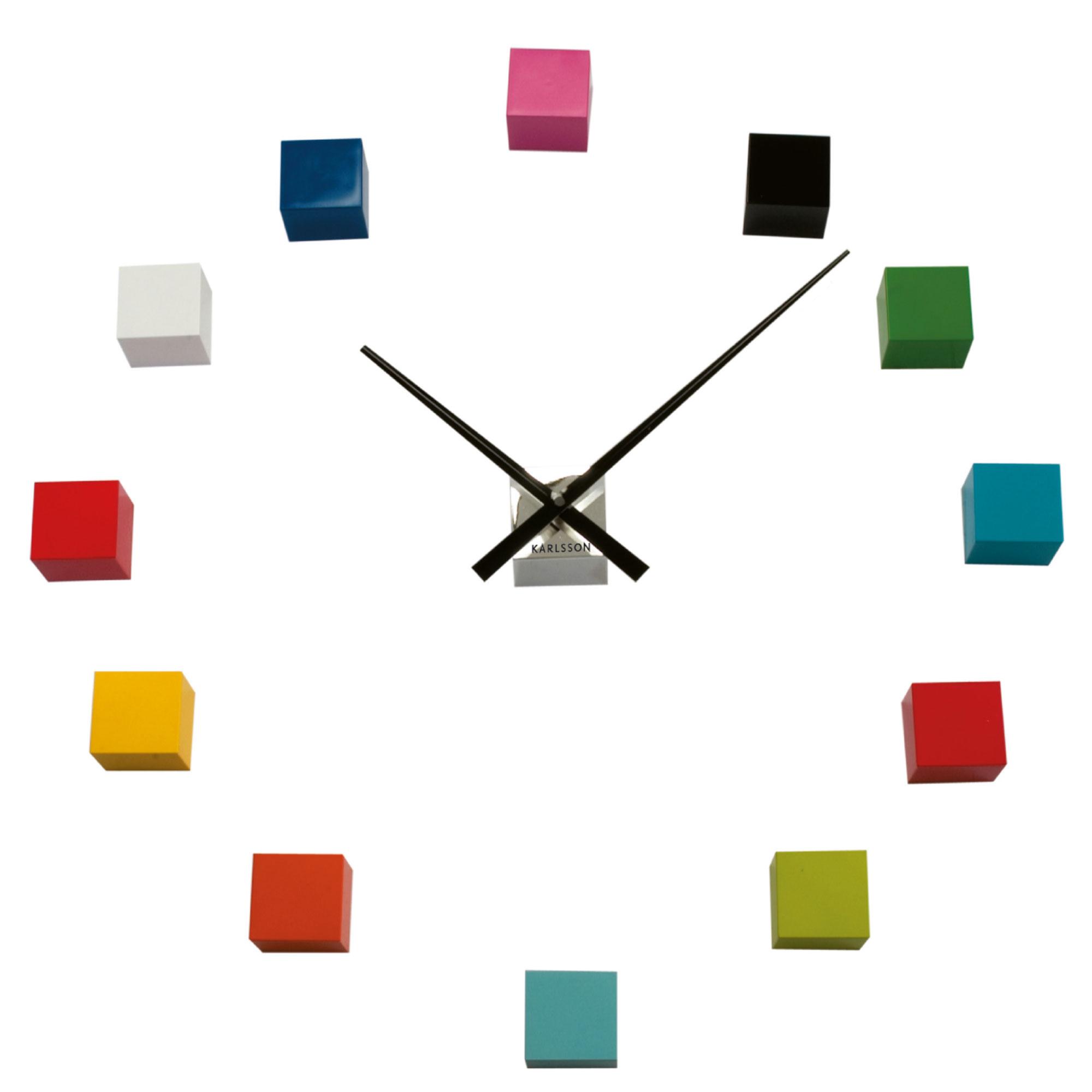 Present time ka4306 horloge murale do it yourself en for Castorama horloge