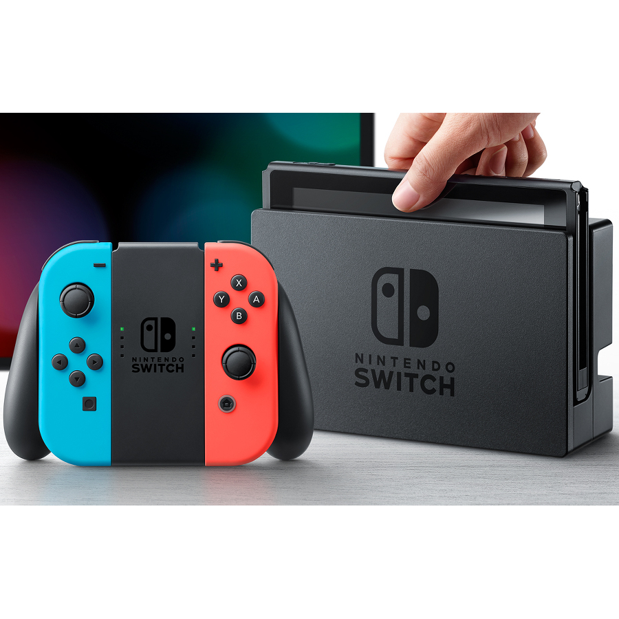 nintendo switch avec joy con rouge n on et bleu n on comparer avec. Black Bedroom Furniture Sets. Home Design Ideas