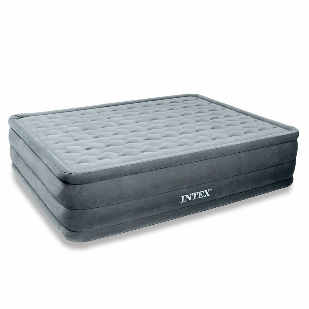 intex 66958 matelas gonflable sur lev ultra plush 2 places 203 x 152 x 46 cm comparer. Black Bedroom Furniture Sets. Home Design Ideas