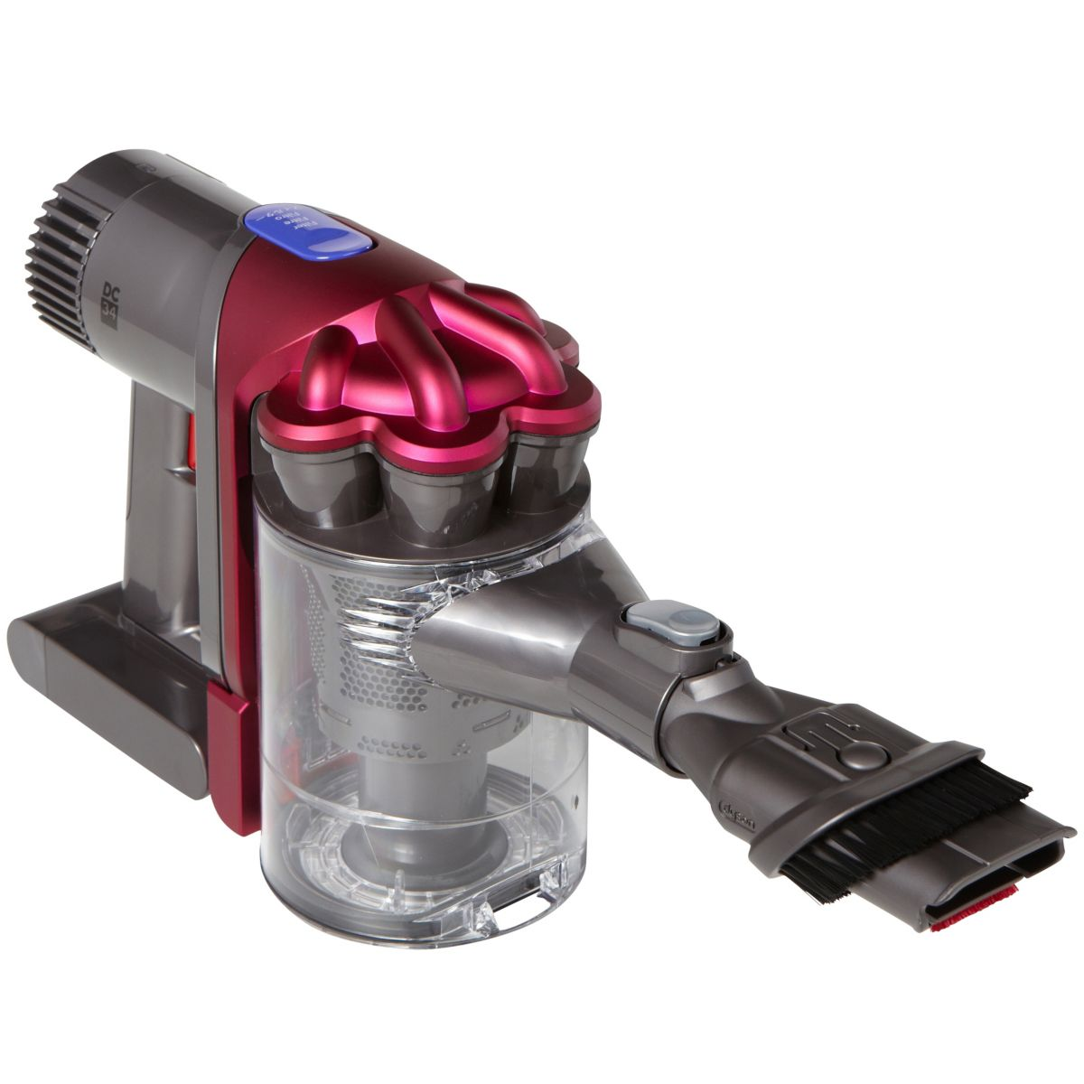 dyson dc34 aspirateur main sans fils et sans sac comparer avec. Black Bedroom Furniture Sets. Home Design Ideas