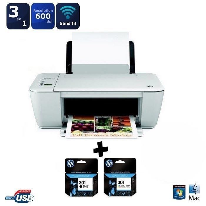 hp deskjet 2542 imprimante multifonctions wifi. Black Bedroom Furniture Sets. Home Design Ideas