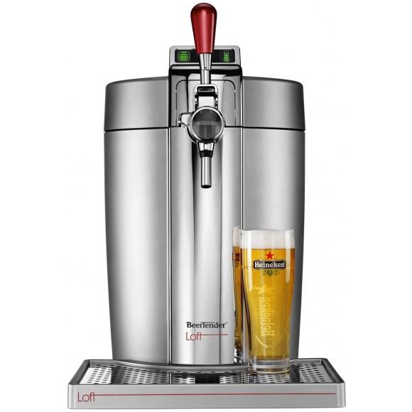krups beertender b90 vb502e00 loft s rie limit e tireuse bi re avec f ts de bi re de 5. Black Bedroom Furniture Sets. Home Design Ideas