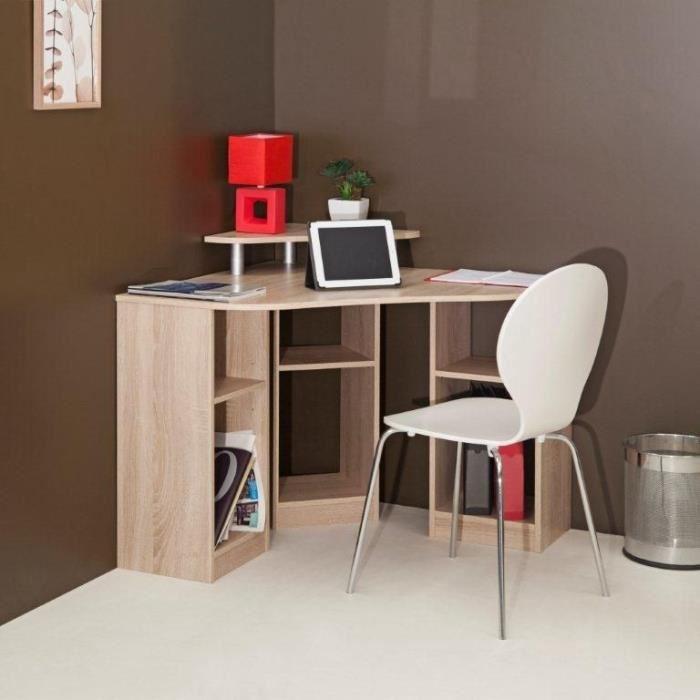 bureau d 39 angle bobby en ch ne comparer avec. Black Bedroom Furniture Sets. Home Design Ideas