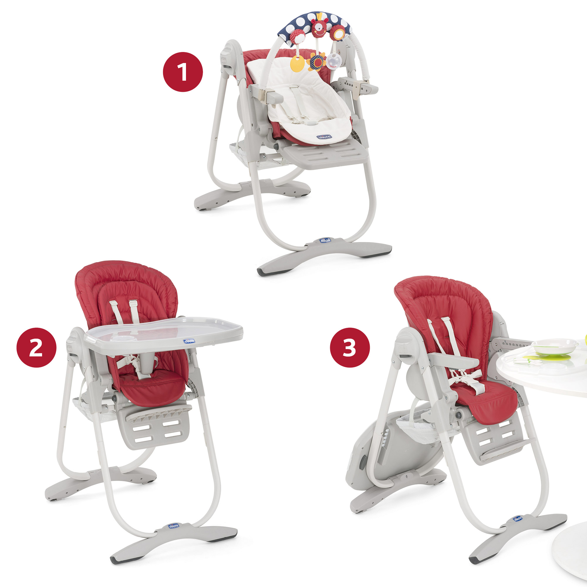 Chicco chaise haute polly magic 2016 comparer avec - Prix chaise haute chicco ...