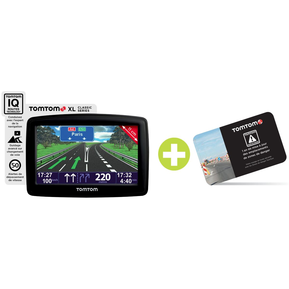 tomtom xl classic s ries europe 23 gps avec zones de danger comparer avec. Black Bedroom Furniture Sets. Home Design Ideas