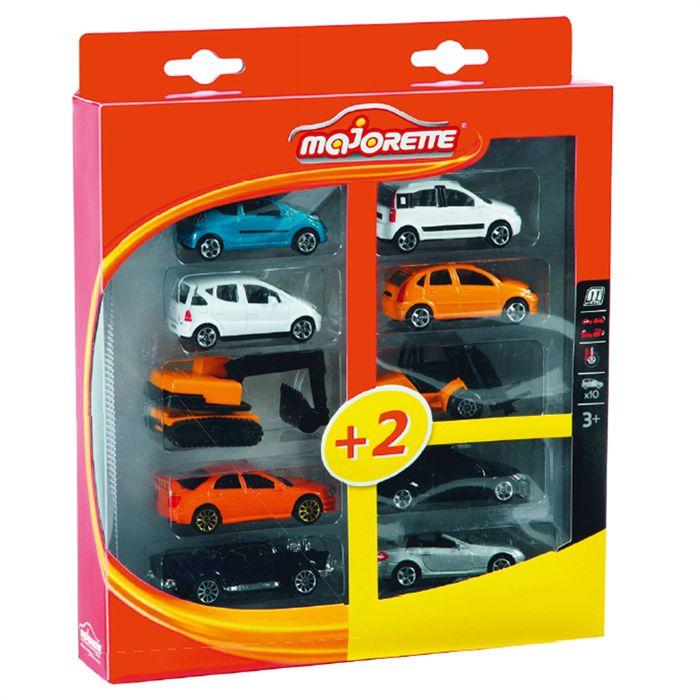majorette square pack de 10 voitures miniatures assortiment al atoire comparer avec. Black Bedroom Furniture Sets. Home Design Ideas