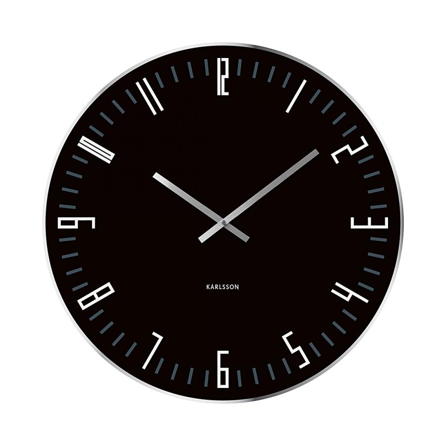 present time horloge murale xl comparer avec. Black Bedroom Furniture Sets. Home Design Ideas
