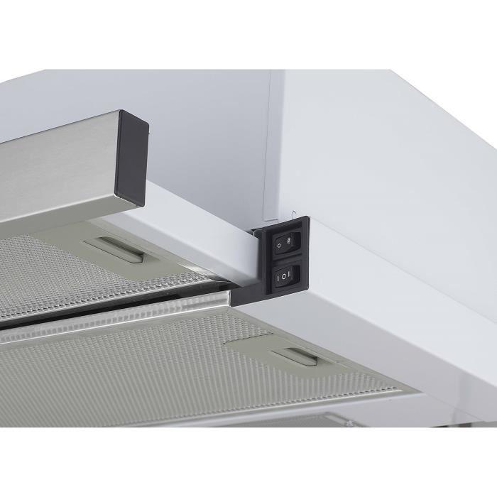 continental edison ceht440r hotte tiroir 2 puissances comparer avec. Black Bedroom Furniture Sets. Home Design Ideas