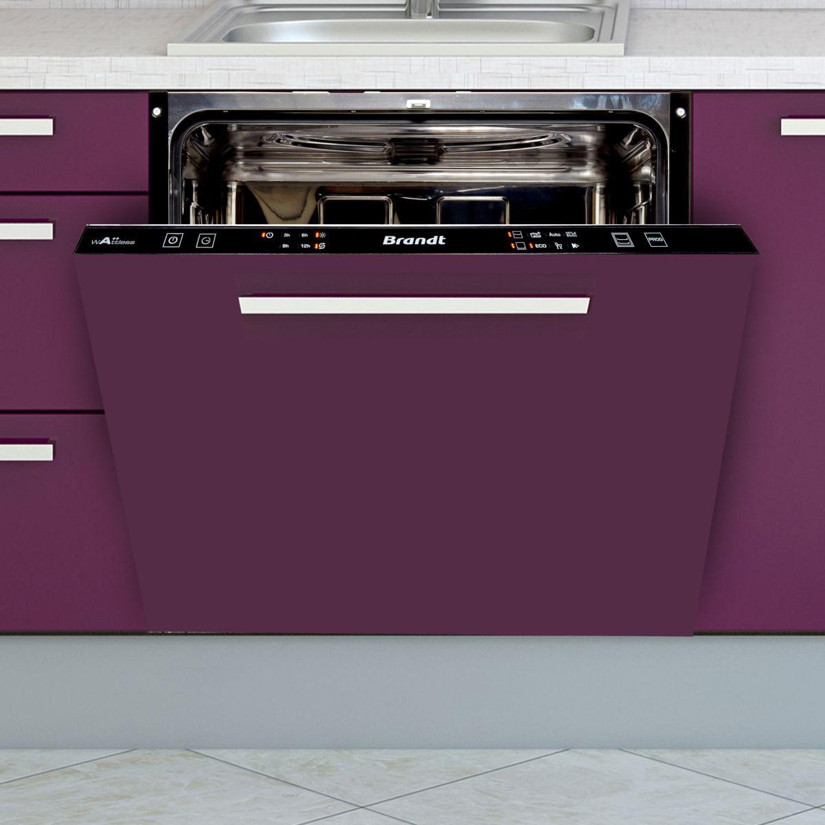 brandt vh1505j lave vaisselle int grable 13 couverts comparer avec. Black Bedroom Furniture Sets. Home Design Ideas