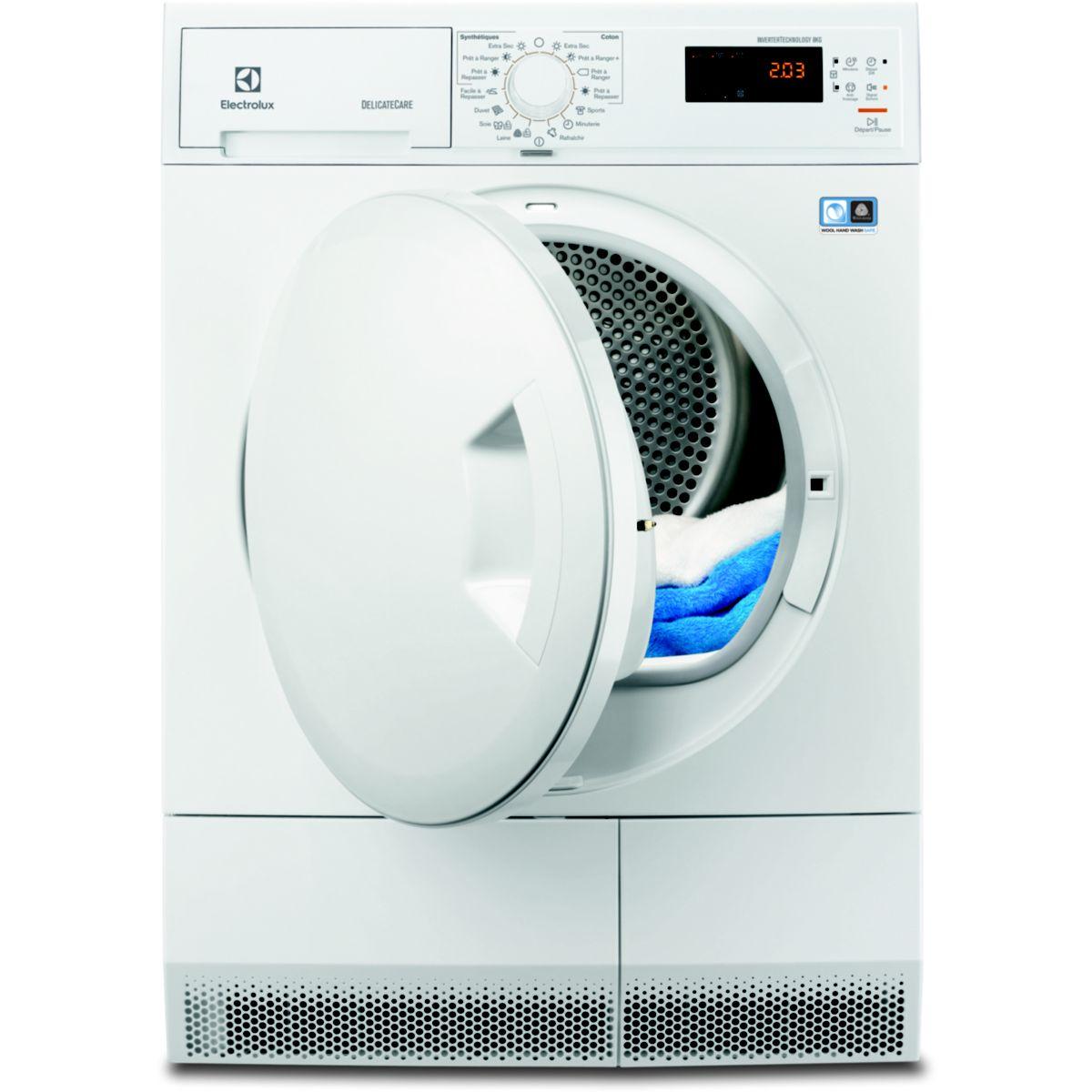 electrolux edh3682pss s che linge condensation 8 kg. Black Bedroom Furniture Sets. Home Design Ideas
