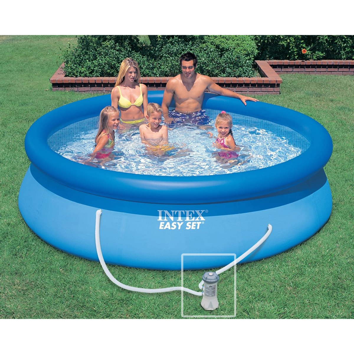 intex 28122fr piscine hors sol autoportante ronde pvc 305 cm comparer avec. Black Bedroom Furniture Sets. Home Design Ideas