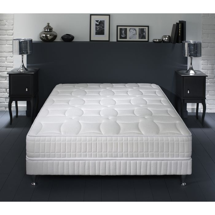simmons matelas et sommier pamela 160 x 200 cm comparer avec. Black Bedroom Furniture Sets. Home Design Ideas
