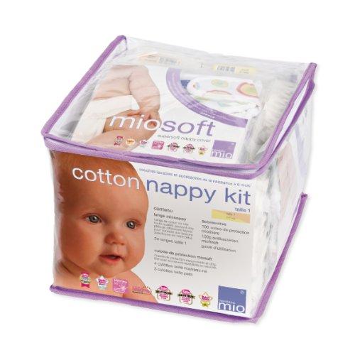 Bambino mio couche lavable cotton nappy kit 7 12kg - Couche lavable bambino mio ...