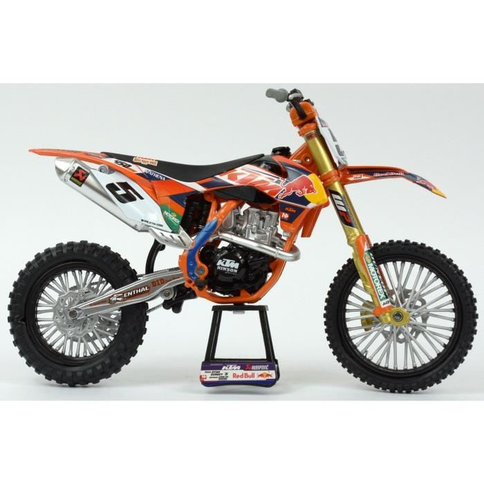 new ray 57633 moto cross ktm sxf 450 r dungey echelle 1 12 comparer avec. Black Bedroom Furniture Sets. Home Design Ideas
