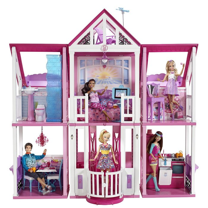 mattel ma maison de r ve barbie comparer avec. Black Bedroom Furniture Sets. Home Design Ideas