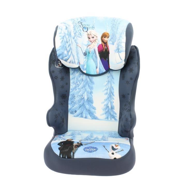 starter la reine des neiges r hausseur dossier sans harnais groupe 1 2 comparer avec. Black Bedroom Furniture Sets. Home Design Ideas