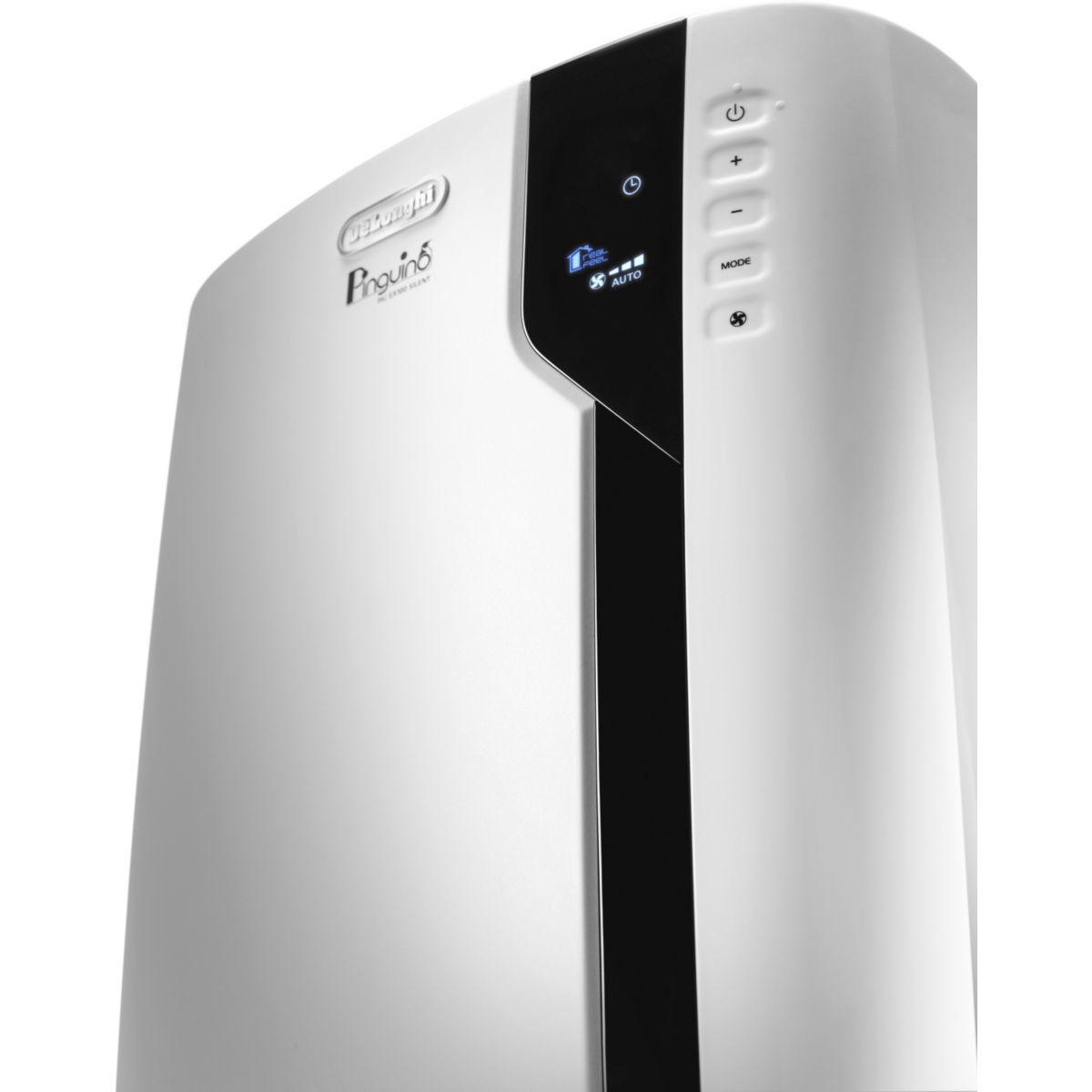 delonghi pac ex100 silent climatiseur monobloc mobile. Black Bedroom Furniture Sets. Home Design Ideas
