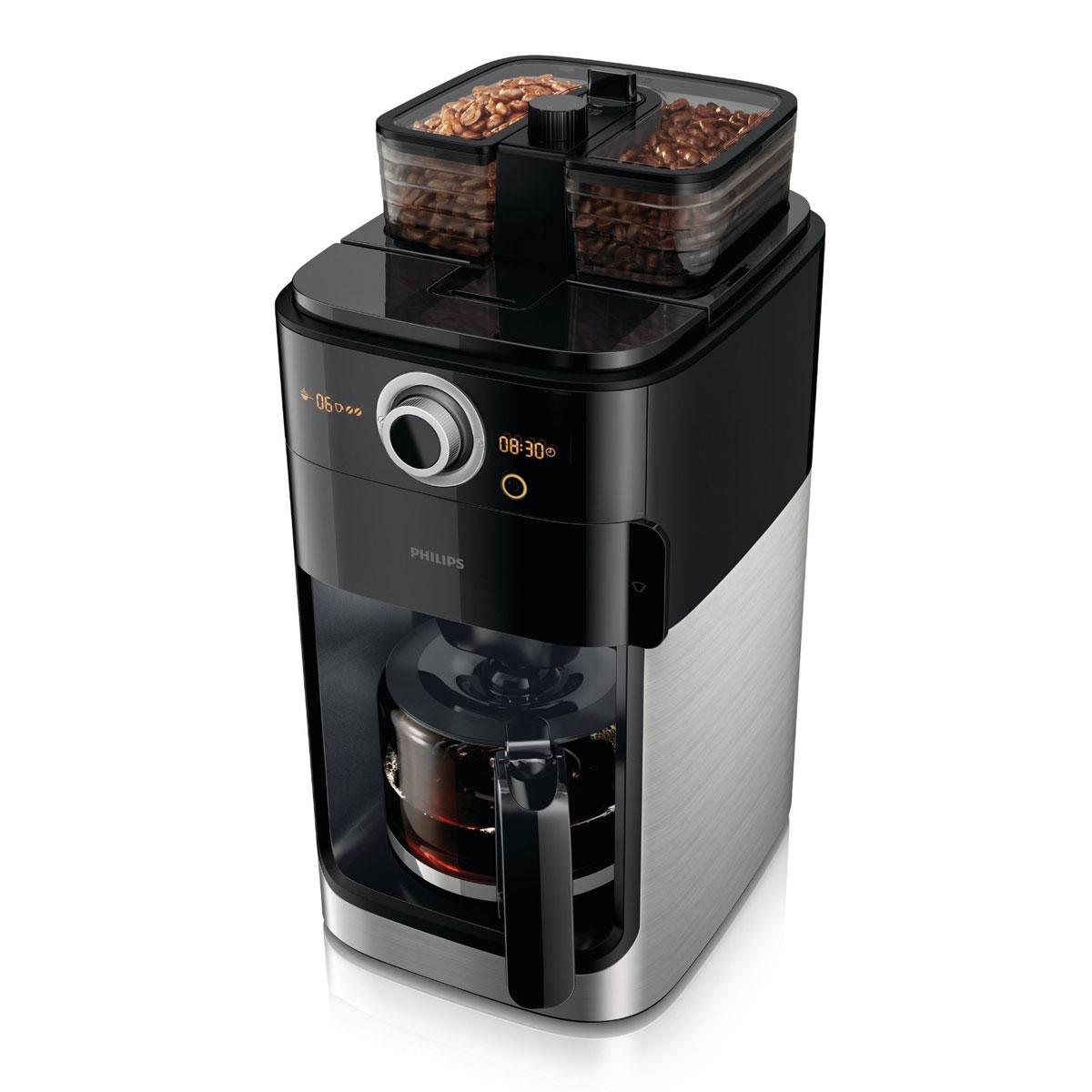 philips hd7762 00 cafeti re lectrique grind brew. Black Bedroom Furniture Sets. Home Design Ideas