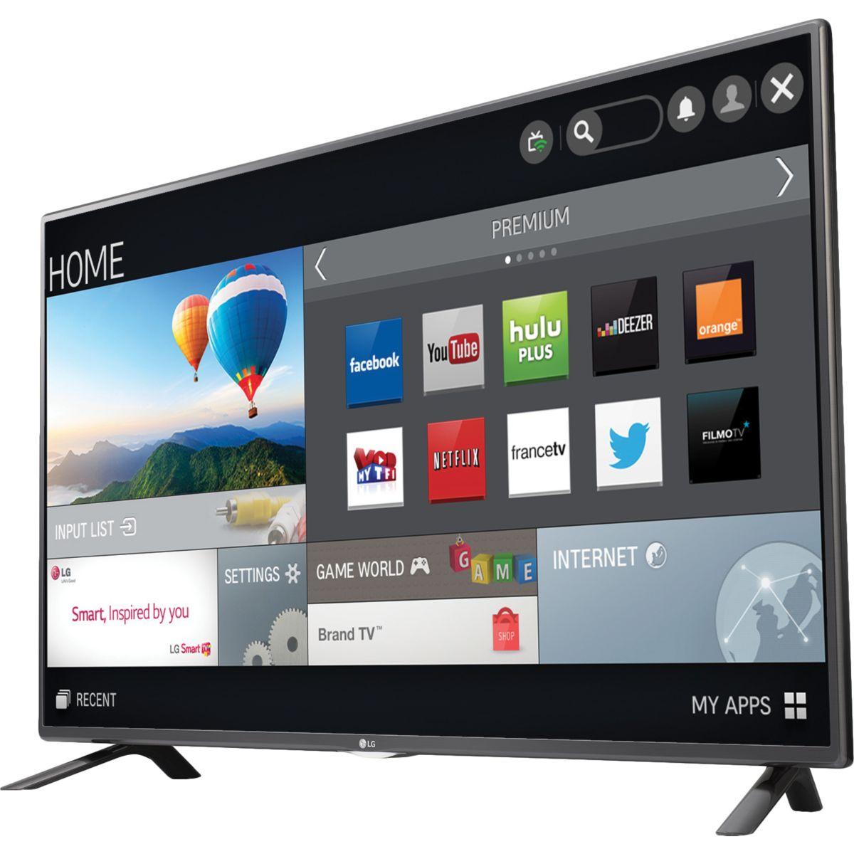 lg 32lf5800 t l viseur led 81 cm smart tv comparer avec. Black Bedroom Furniture Sets. Home Design Ideas