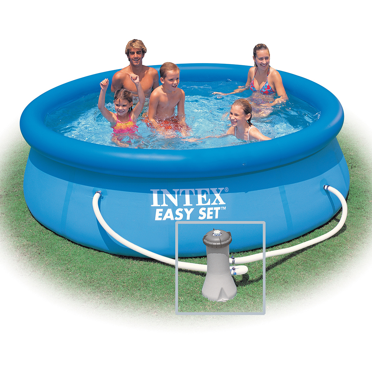 Intex 28122fr piscine hors sol autoportante ronde pvc for Piscine hors sol intex autoportante