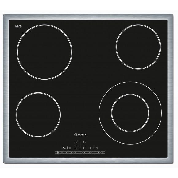 bosch pkf645f17e table de cuisson vitroc ramique 4 foyers comparer avec. Black Bedroom Furniture Sets. Home Design Ideas