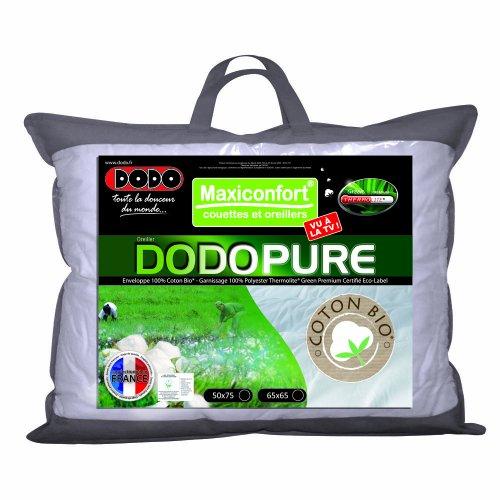 dodo oreiller classique dodopure 50 x 75 cm comparer avec. Black Bedroom Furniture Sets. Home Design Ideas