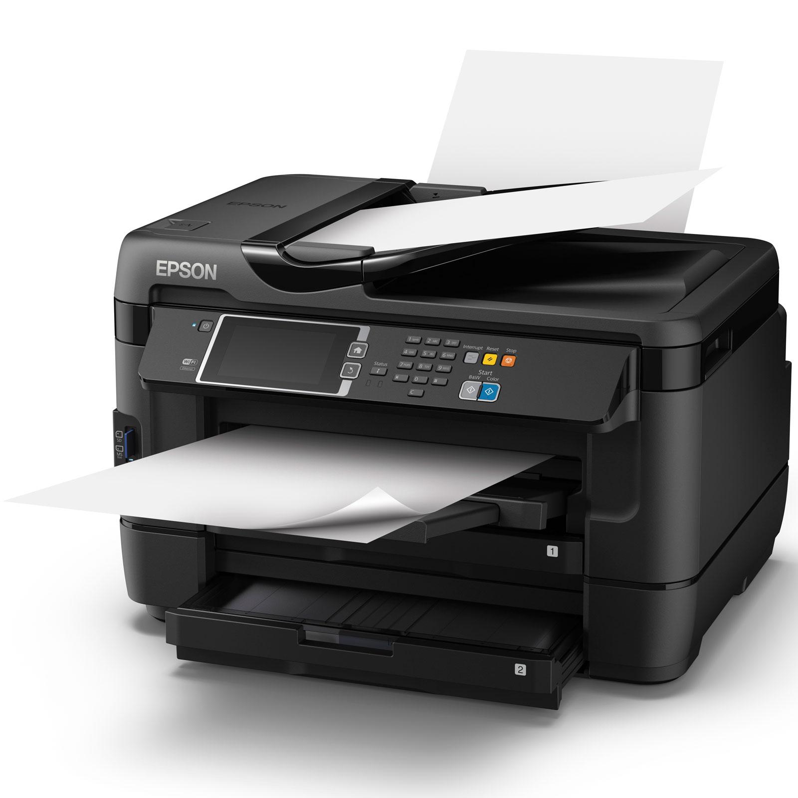 epson workforce wf 7620dtwf imprimante multifonctions jet d 39 encre couleur a3 fax comparer. Black Bedroom Furniture Sets. Home Design Ideas