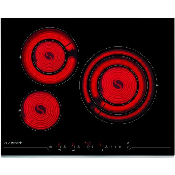 De dietrich dtv1124 table de cuisson vitroc ramique 3 foyers comparer avec - Table de cuisson vitroceramique de dietrich ...