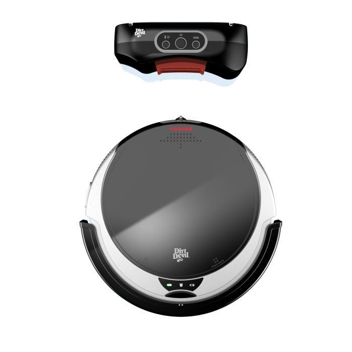 dirt devil fusion m611 aspirateur robot comparer avec. Black Bedroom Furniture Sets. Home Design Ideas