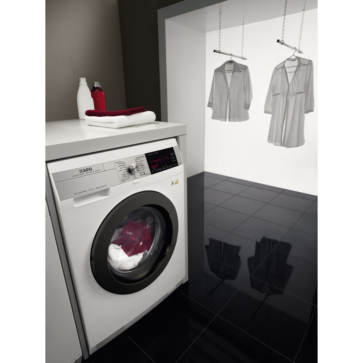 aeg l99695hwd lave linge s chant frontal 9 kg comparer avec. Black Bedroom Furniture Sets. Home Design Ideas