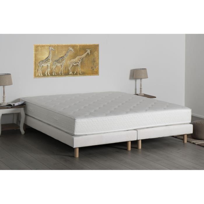 deko dream ensemble matelas ressorts ensach s d tente et sommier avec pieds 180 x 200 cm. Black Bedroom Furniture Sets. Home Design Ideas