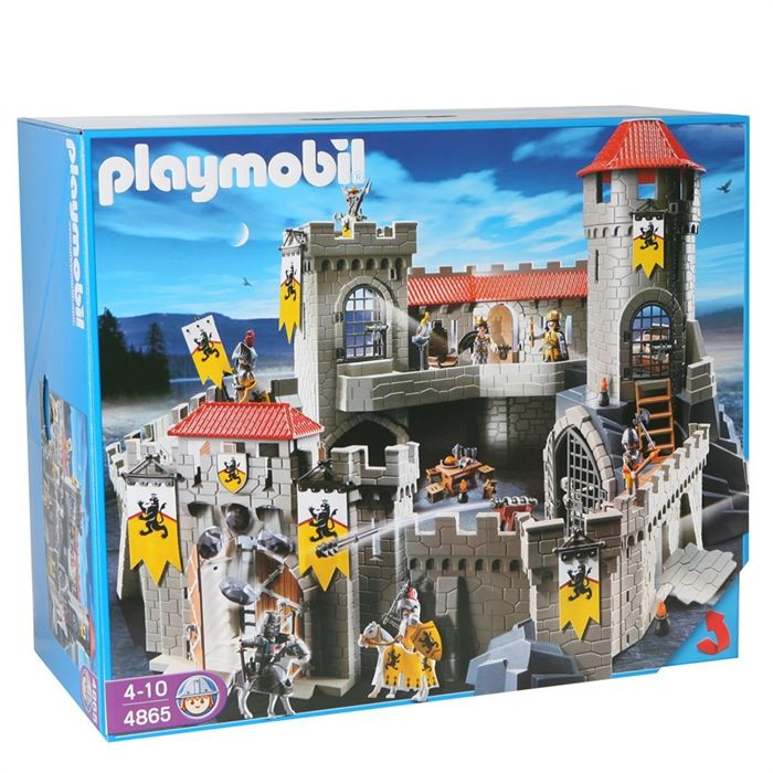 playmobil 4865 ch teau fort des chevaliers du lion comparer avec. Black Bedroom Furniture Sets. Home Design Ideas