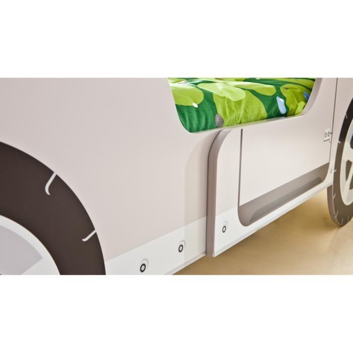 someo lit enfant jeep safari avec sommier 90 x 190 cm comparer avec. Black Bedroom Furniture Sets. Home Design Ideas