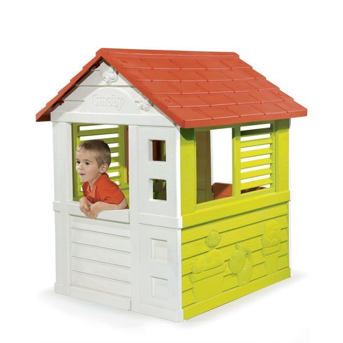 smoby maison nature comparer avec. Black Bedroom Furniture Sets. Home Design Ideas