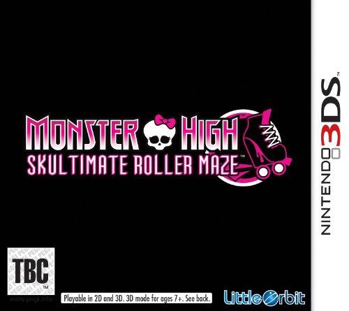Monster high skultimate roller maze sur 3ds comparer - Jeux monster high roller ...