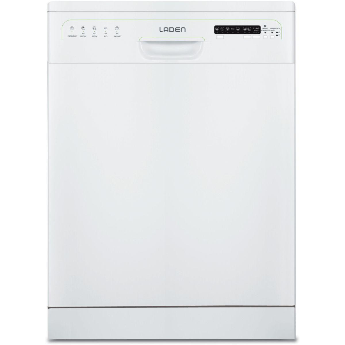 Laden c5320 lave vaisselle 12 couverts comparer avec for Lave vaisselle 6 couverts darty