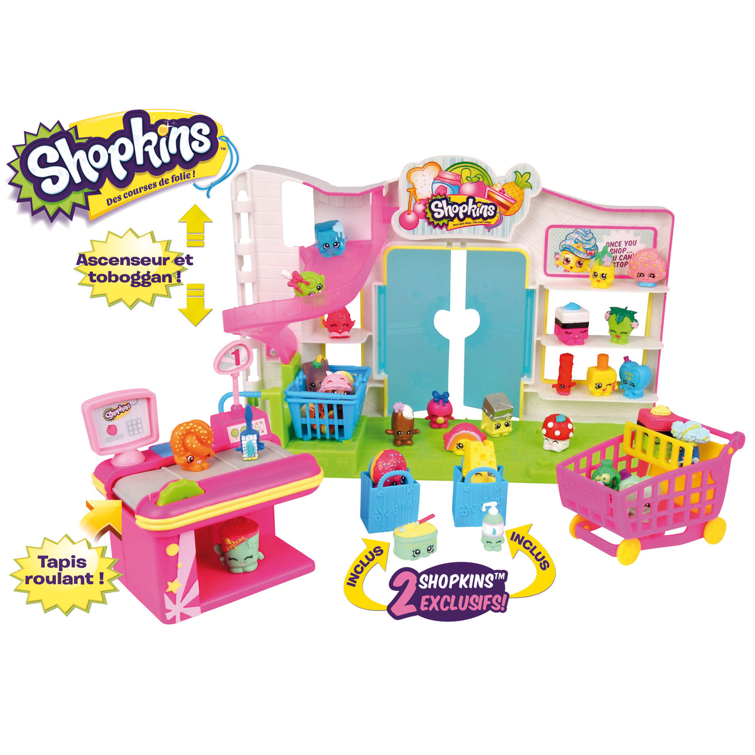 giochi preziosi le supermarch des shopkins comparer avec. Black Bedroom Furniture Sets. Home Design Ideas