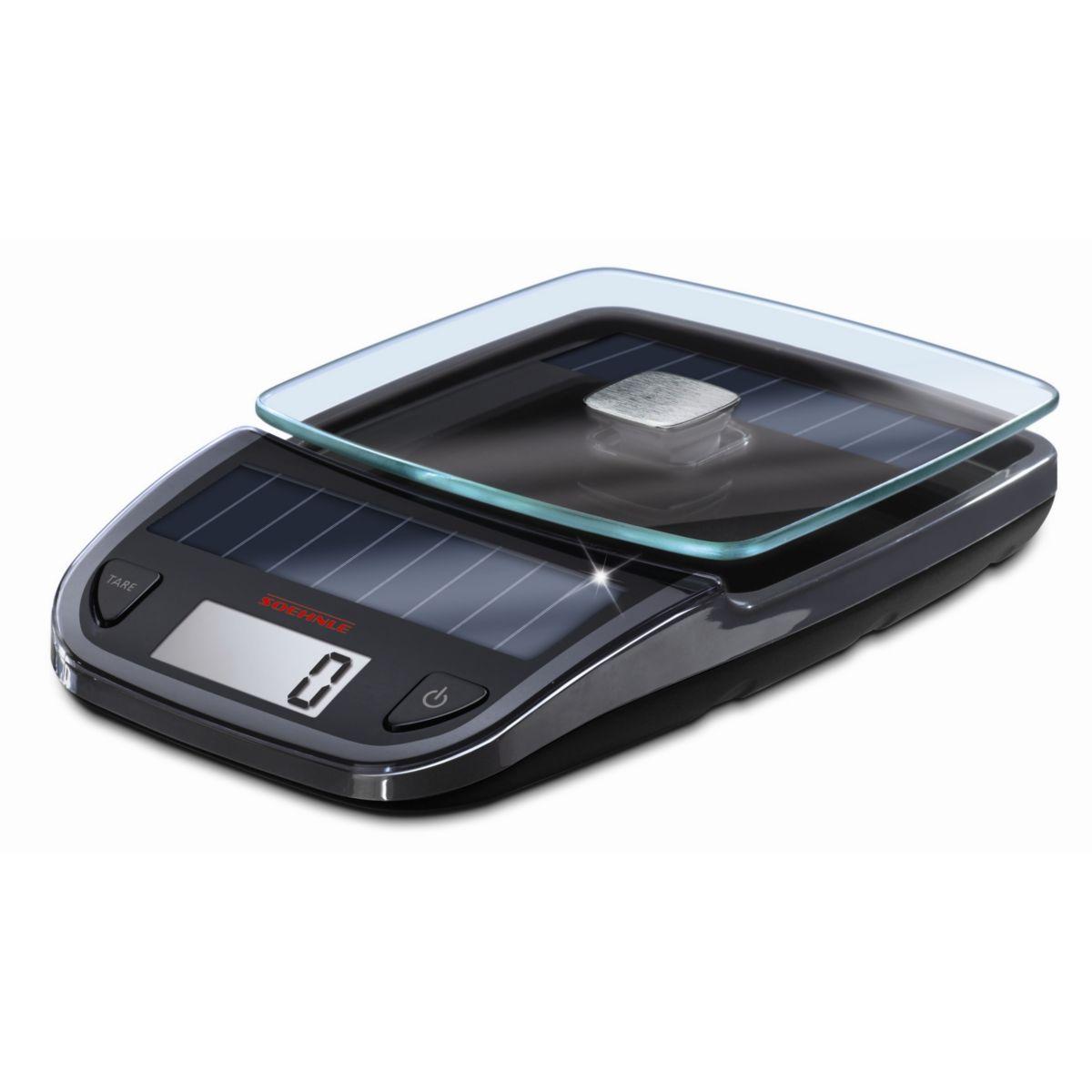 Soehnle solar balance culinaire solaire 5kg comparer - Balance cuisine solaire ...