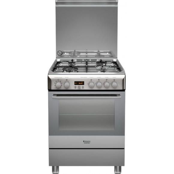 hotpoint h6t9ce1fx cuisini re mixte 4 br leurs gaz avec four lectrique comparer avec. Black Bedroom Furniture Sets. Home Design Ideas