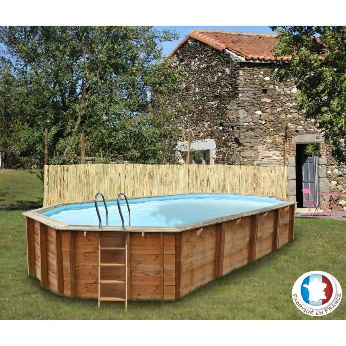 Sunbay 786237 piscine sevilla en bois 872 x 472 x 146 cm for Piscine sunbay