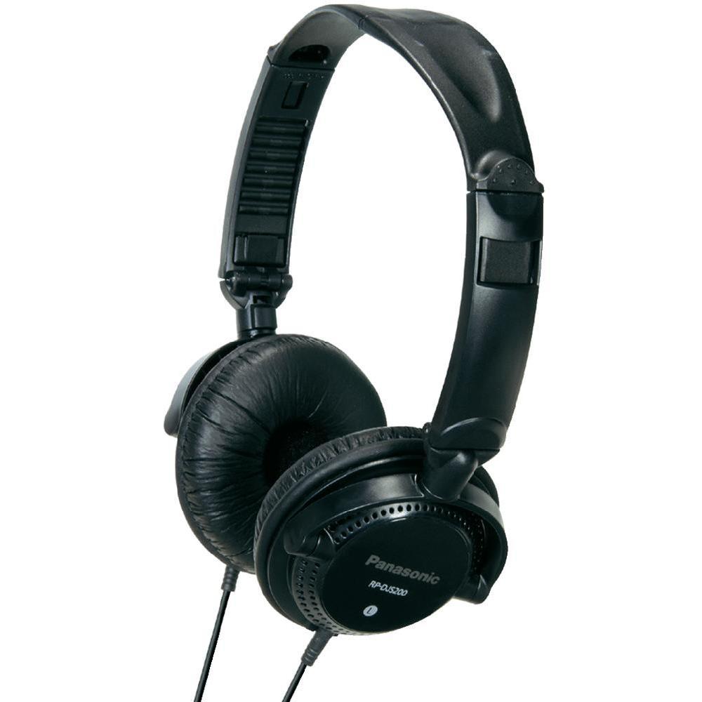 panasonic rp djs200e casque audio dj comparer avec. Black Bedroom Furniture Sets. Home Design Ideas