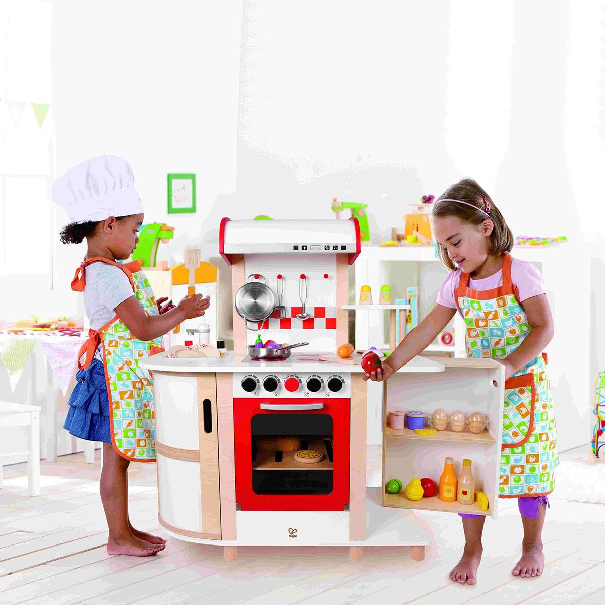 hape e8018 cuisine multifonction en bois comparer avec. Black Bedroom Furniture Sets. Home Design Ideas
