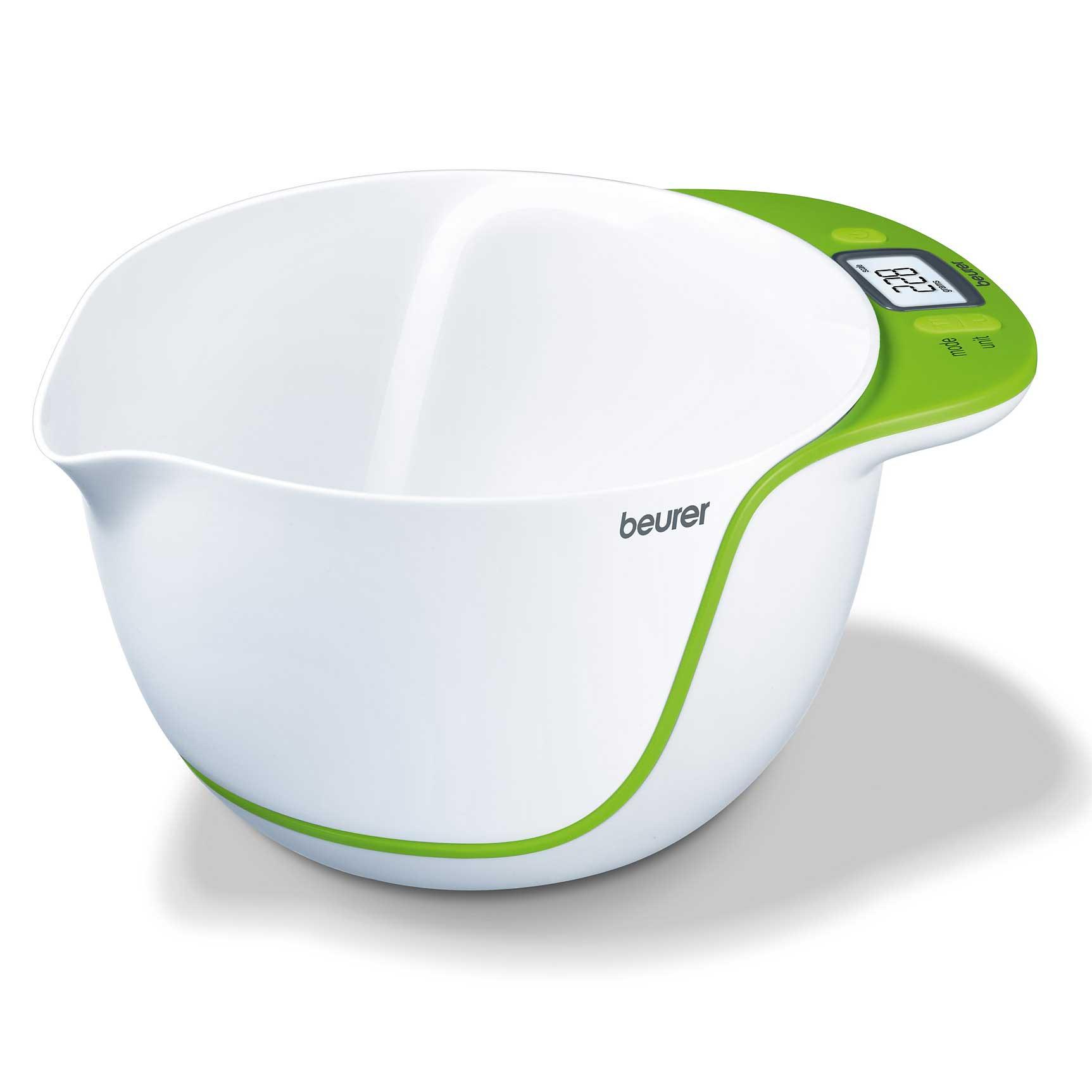 Beurer ks53 balance de cuisine lectronique avec bol m langeur comparer avec - Balance de cuisine beurer ...