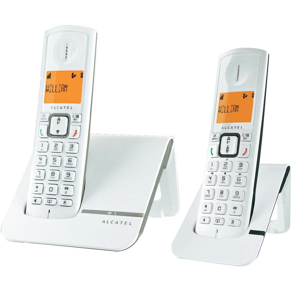 alcatel versatis f230 duo t l phone sans fil 2 combin s. Black Bedroom Furniture Sets. Home Design Ideas