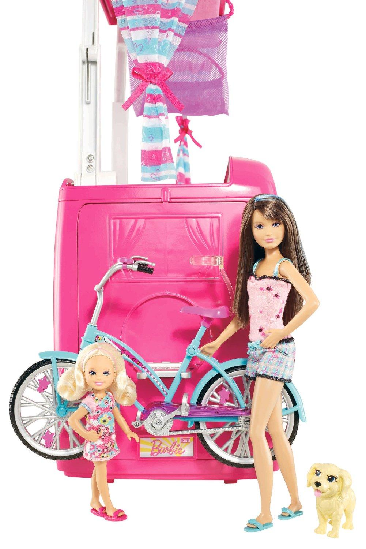 mattel barbie et ses soeurs dans le camping car comparer. Black Bedroom Furniture Sets. Home Design Ideas