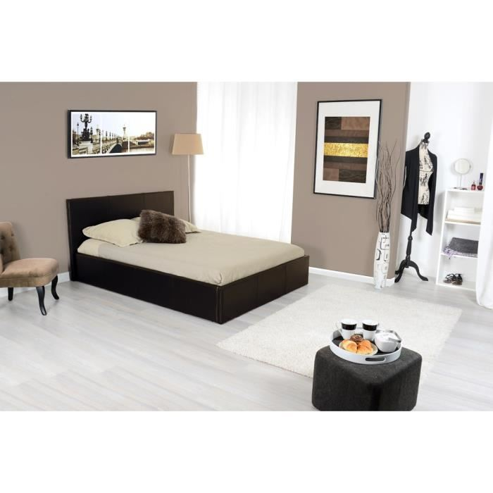 3 suisses collection lit coffre skon 140 x 190 cm. Black Bedroom Furniture Sets. Home Design Ideas