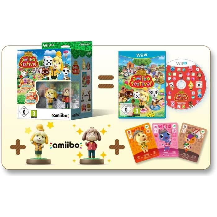 Animal crossing amiibo festival 2 figurines 3 cartes sur wii u comparer avec - Coupe animal crossing wii ...